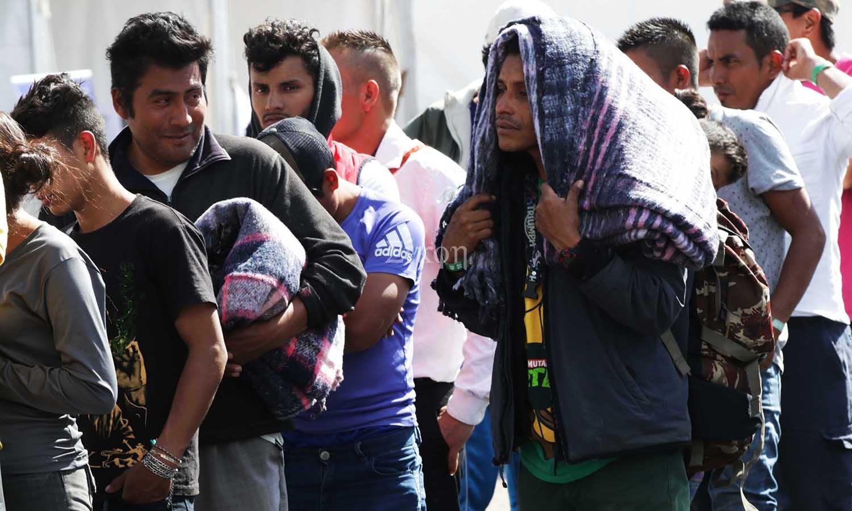 400 Refugiados continuan en la Cd. de México