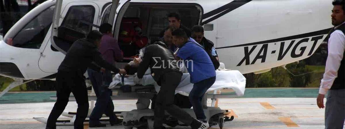 Trasladan a heridos de Tlahuelilpan a hospitales