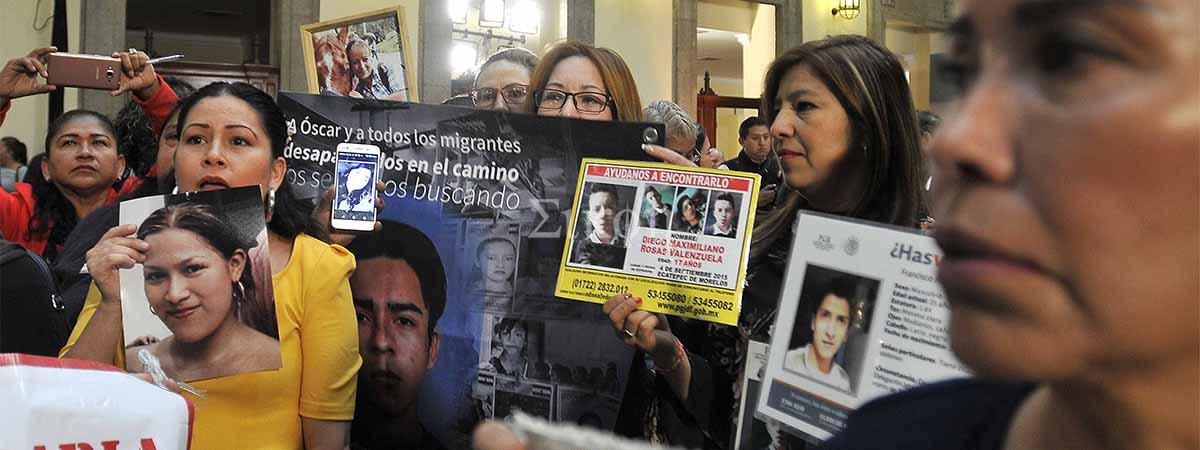 El Estado mexicano asume la responsabilidad de buscar sin tregua